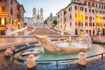 Private Full Day Rome Tour by car and on foot