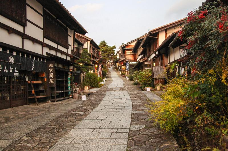 Post-town along the Nakasendo trail