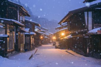 Winter Nakasendo Trail