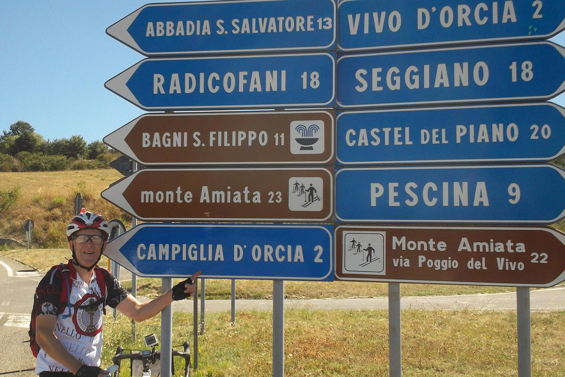 Which way? So many towns to visit while riding through Tuscany and Umbria