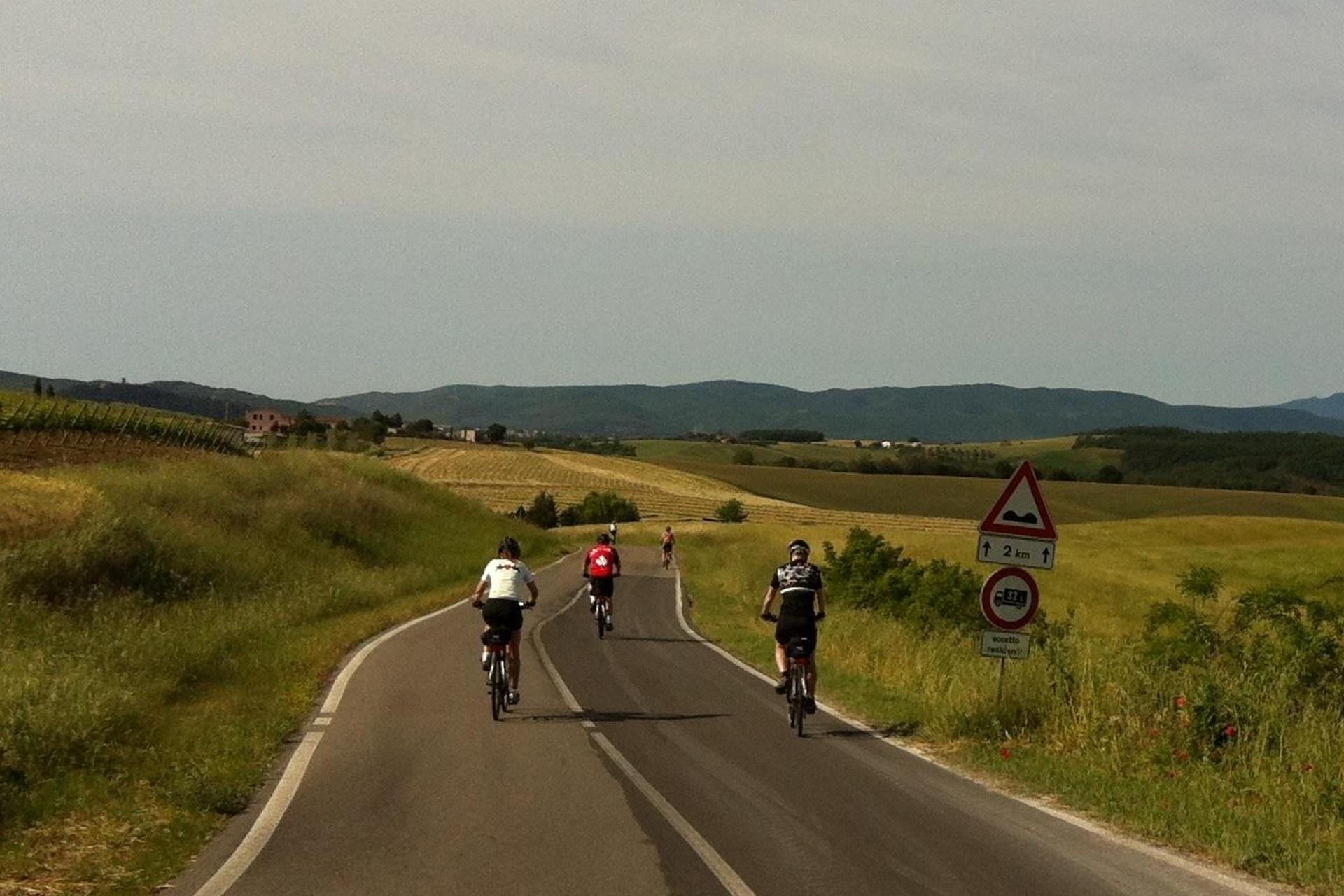 Cycling tour in Tuscany & Umbria Italy