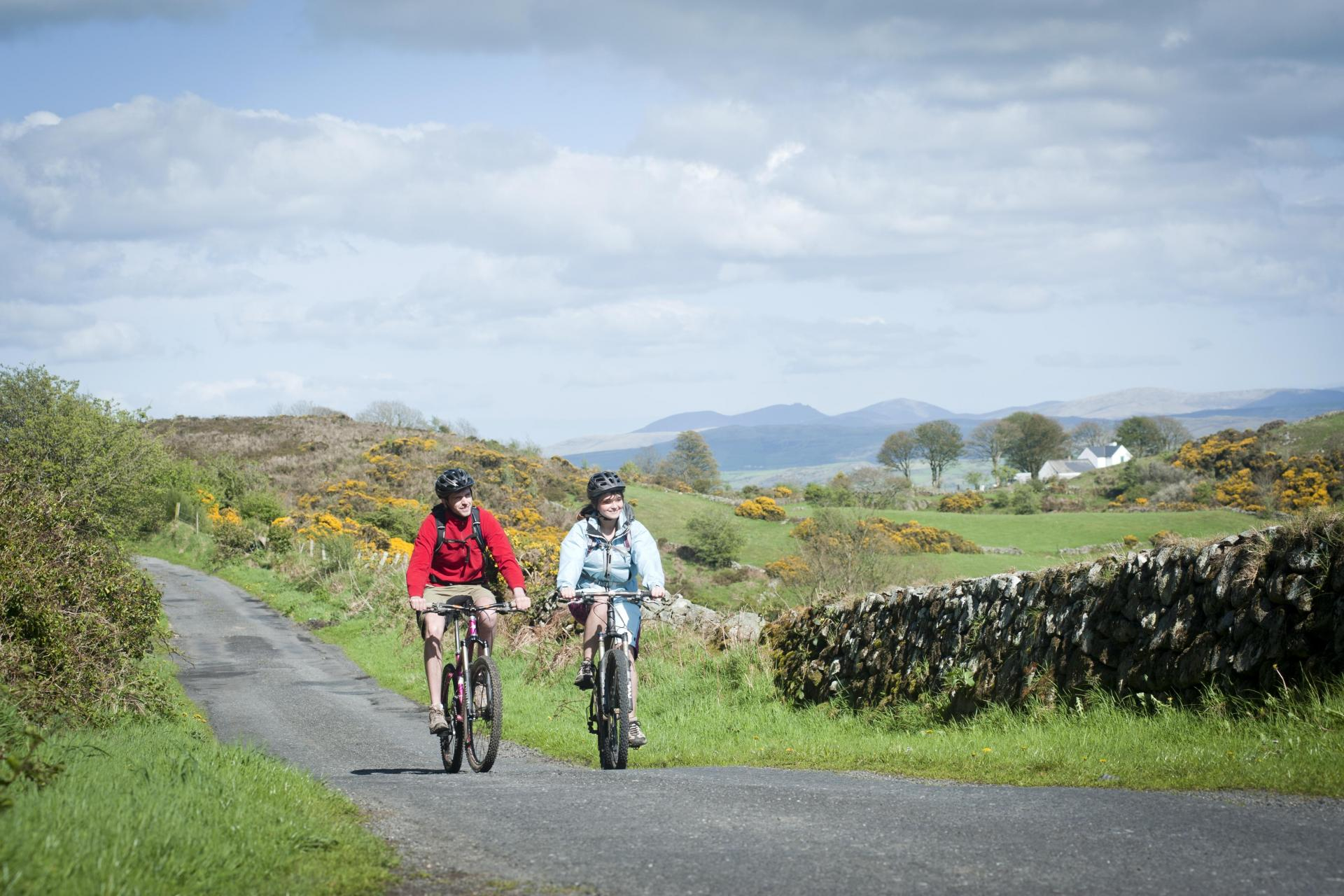 Cycling Ireland on a bicycle tour:  photo Ring of Gullion AONB