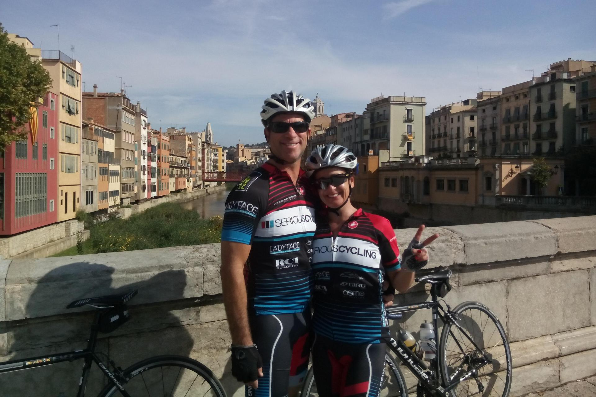 Bicycle tours in Spain on Girona challenge cycling route