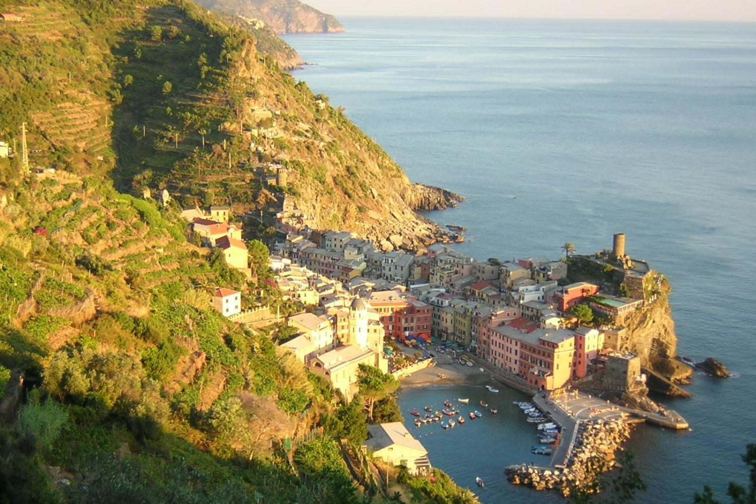 A tiny coastal villages throughout the Cinque Terre