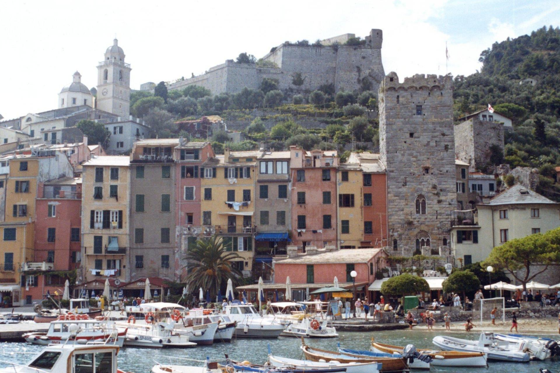 Lovely view of Portovenere marina!