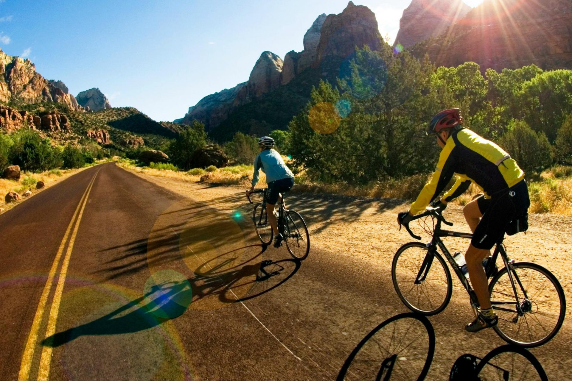 Cycling & Hiking Tour in Zion and Bryce in Utah