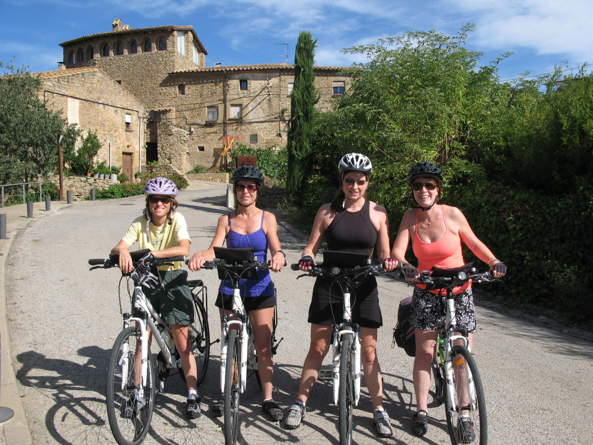 Deluxe bicycle tour in Catalonia Spain Girona to Coast