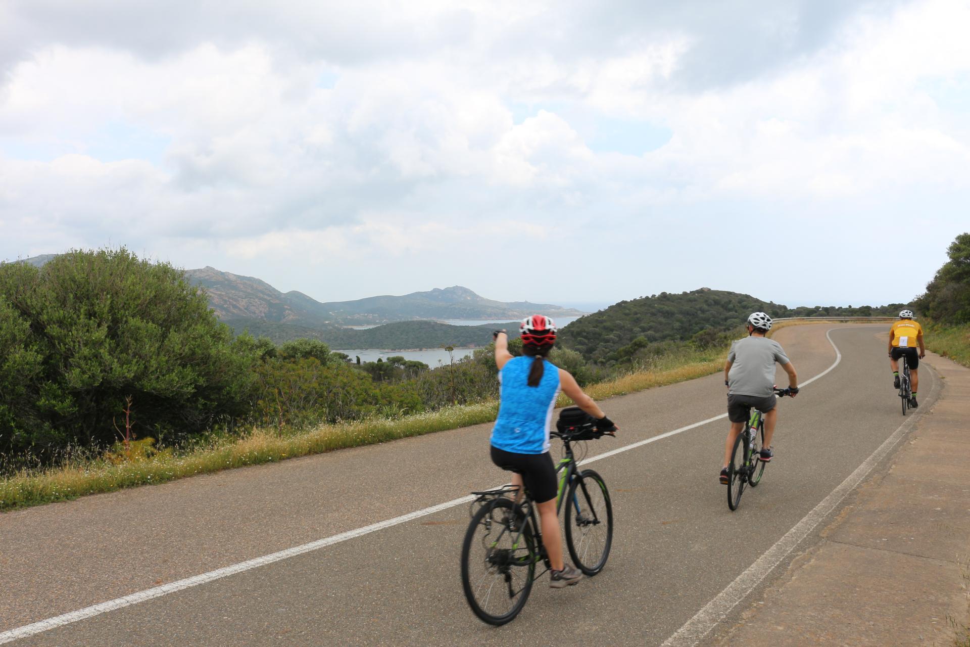 Sardinia private bike tour self guided