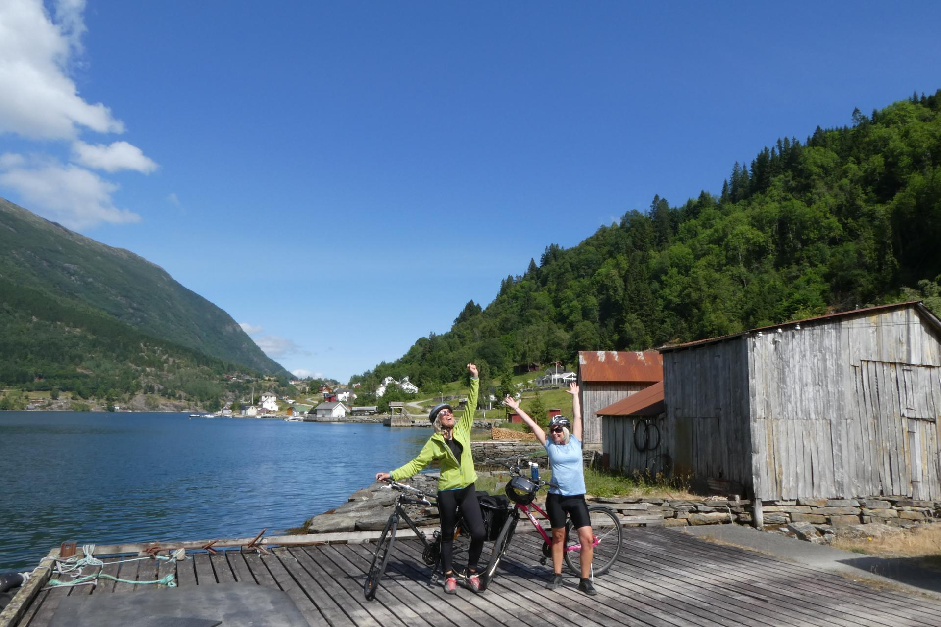 Private self guided bike tour in Fjord Norway