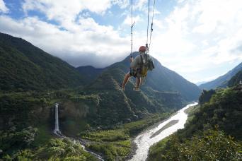 Ecuador - Hiking, Biking, Canyoning Tour Thumbnail