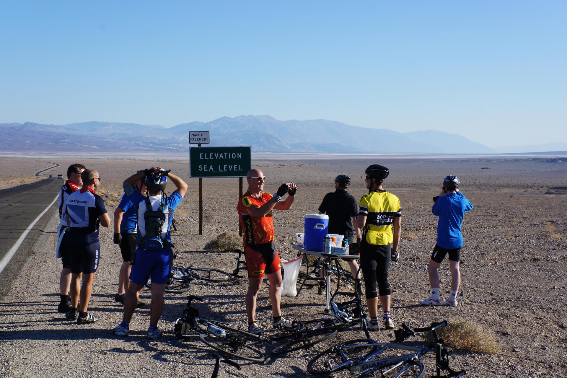 Cycling tour in Death Valley National Park