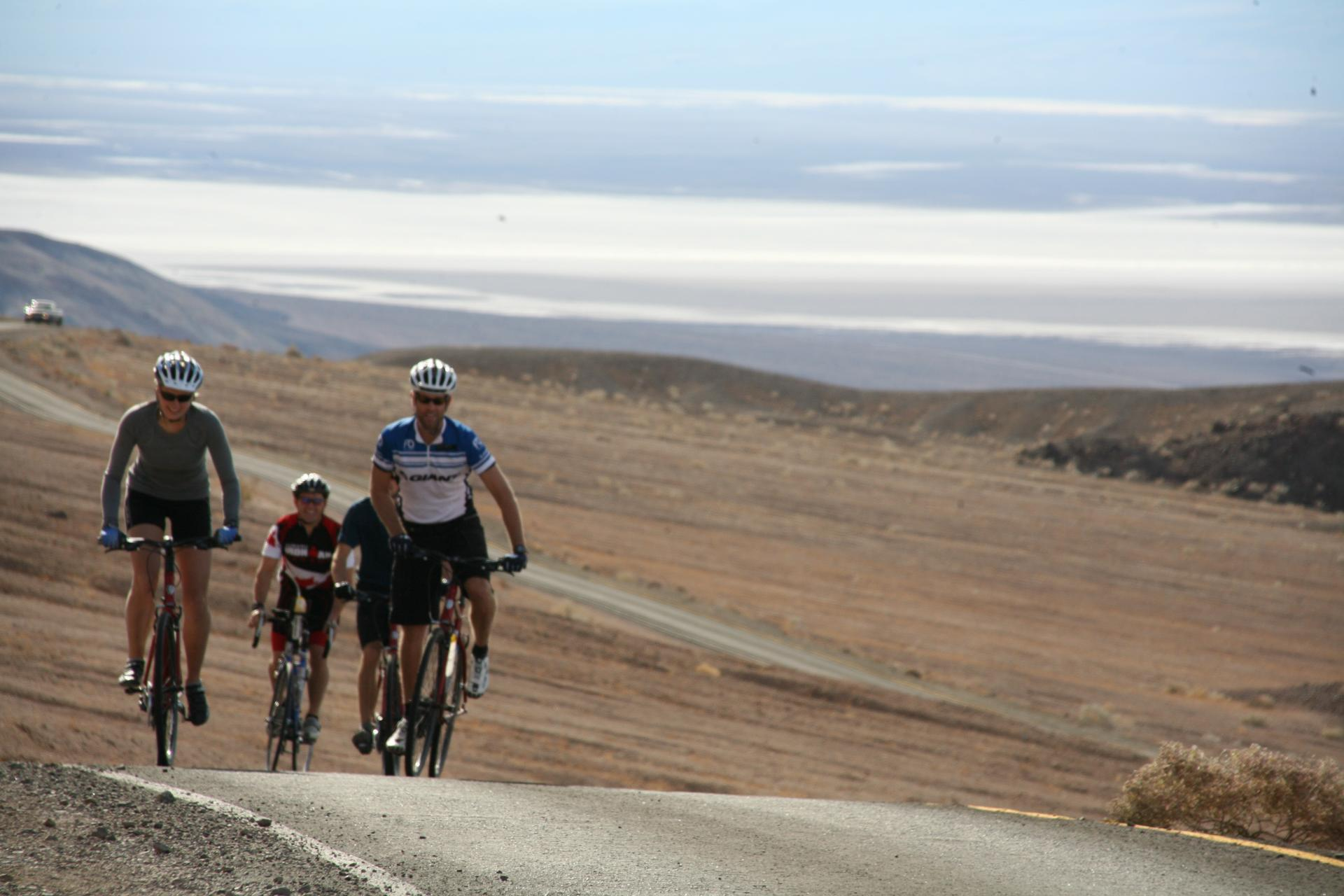 Bicycle Tour in Death Valley
