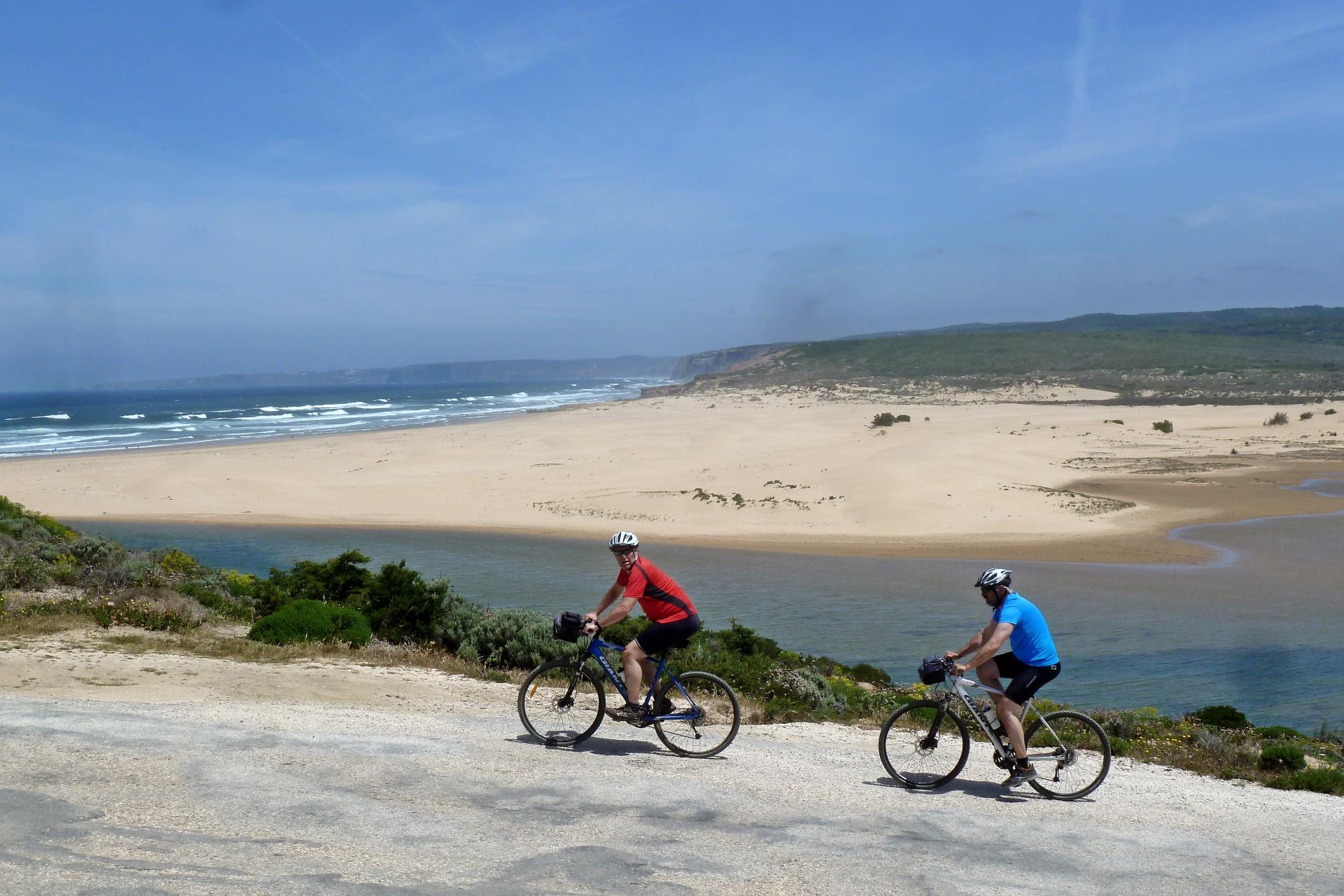 Bicycle tour in Portugal Alentejo Coast to Algarve cycling