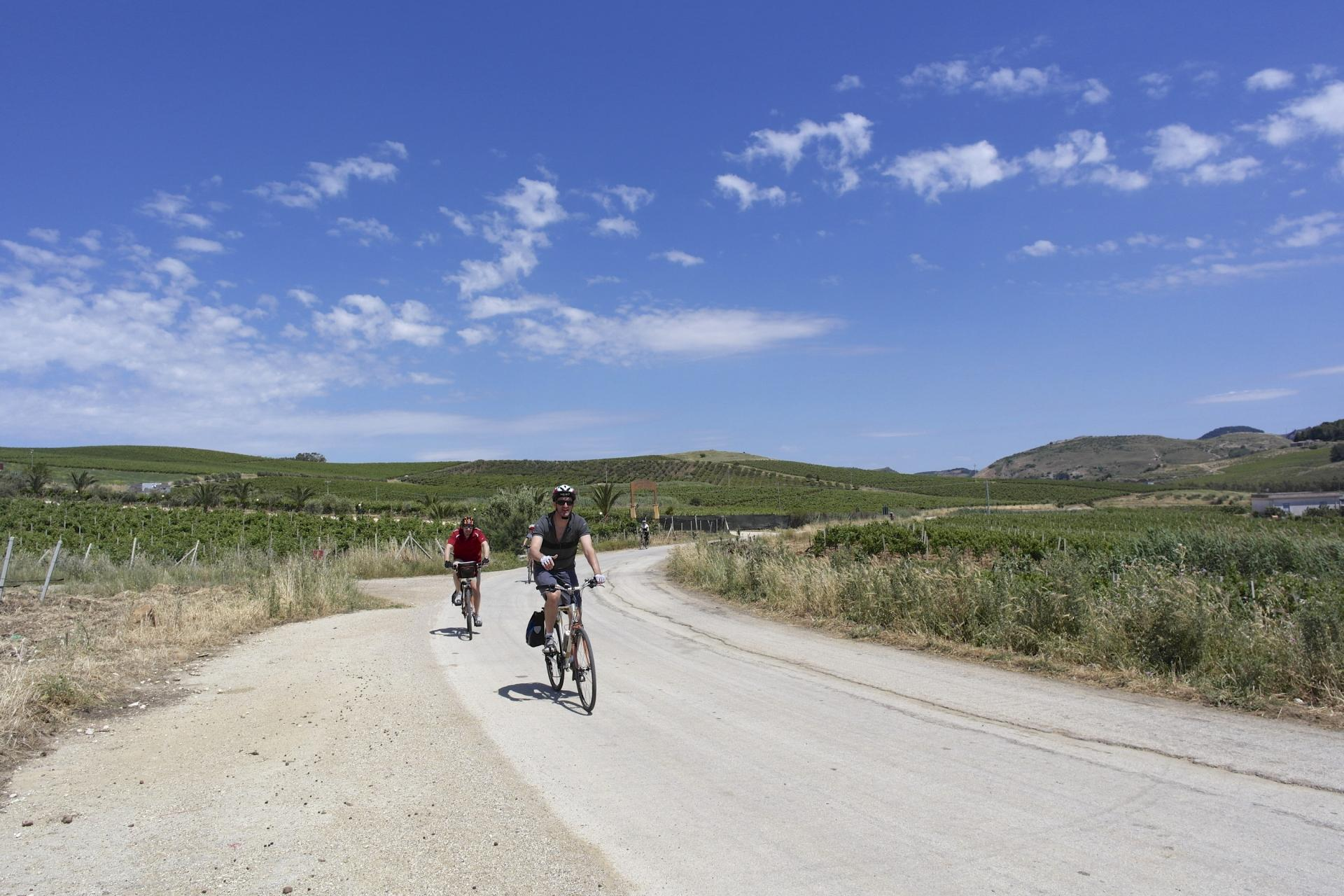 Bicycle tour in Sicily in Italy