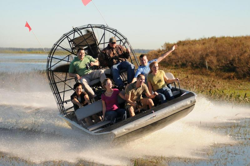 Airboat Adventures Airboat Swamp Tour - Pick Up