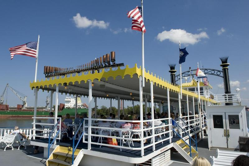 Creole Queen Historic River Cruise with Lunch