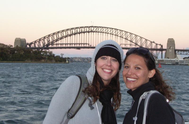 River Cruise back under the Sydney Harbour Bridge