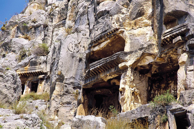 Myra Rock Cut Cut Tombs