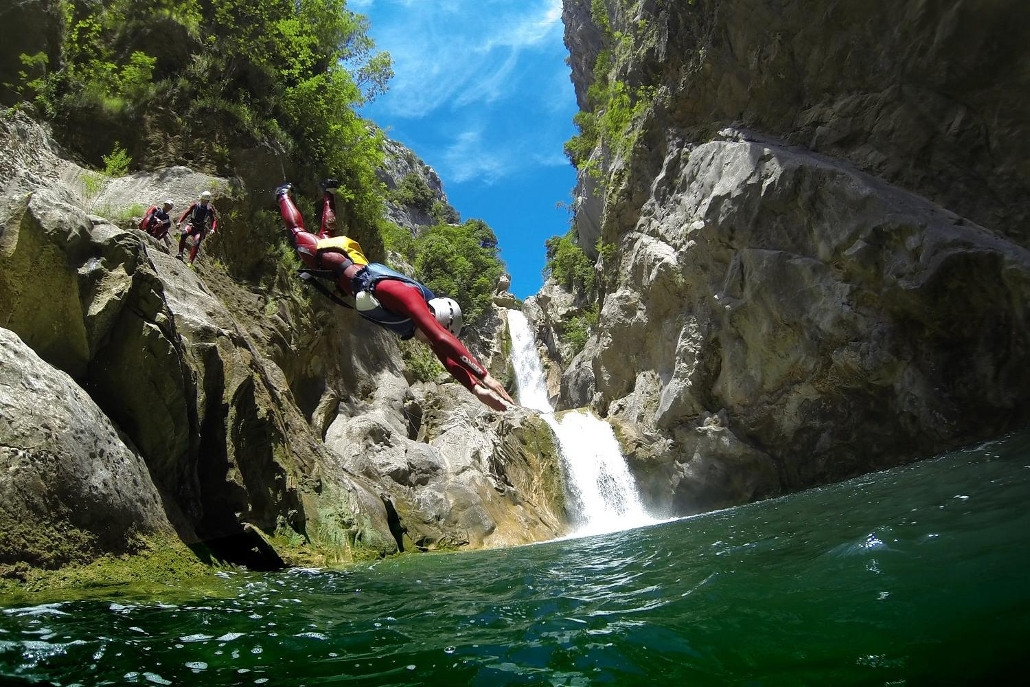 canyoning activity Omis