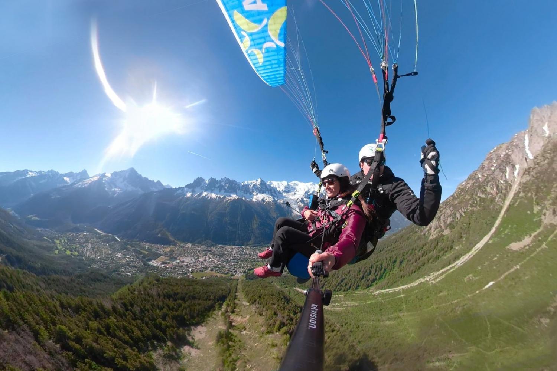 paragliding - chamonix multi-activity holiday