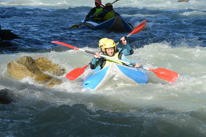 river canoeing - Chamonix watersports holiday