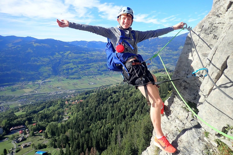 via ferrata - Chamonix multi-activity weekend