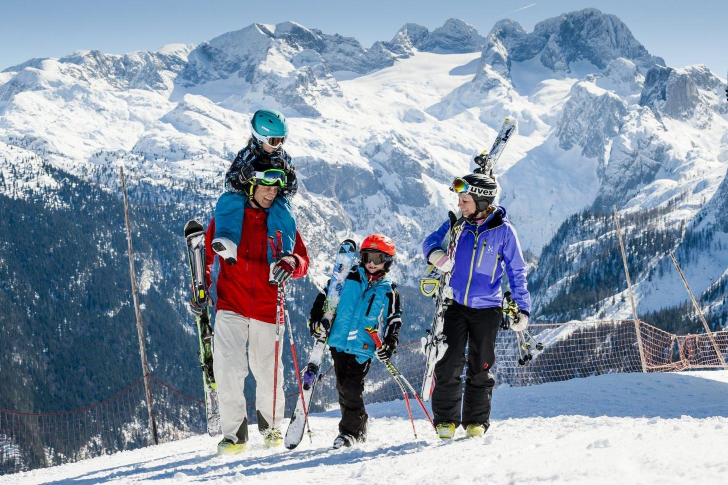 Gosau ski holiday (c) Tourismus Erber
