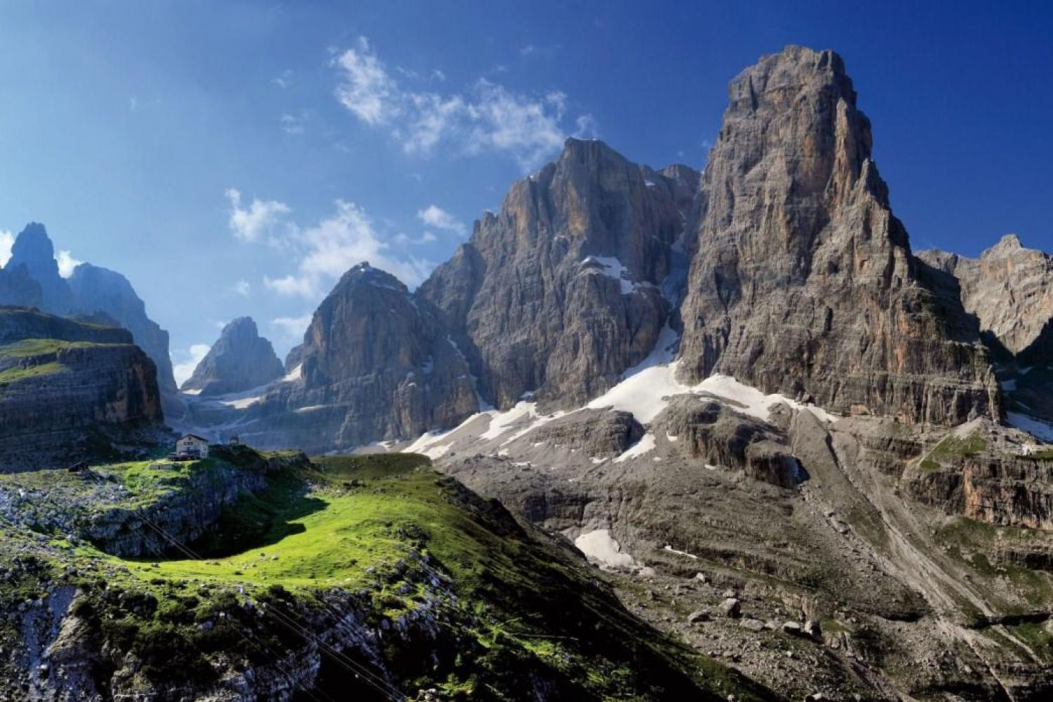 walking holiday in the Dolomites
