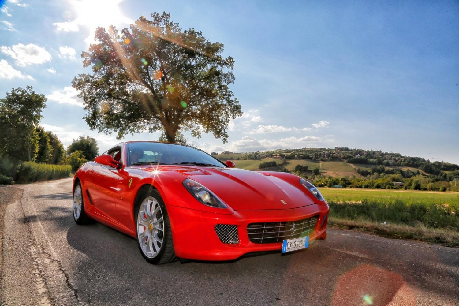 Test drive a Ferrari in Italy