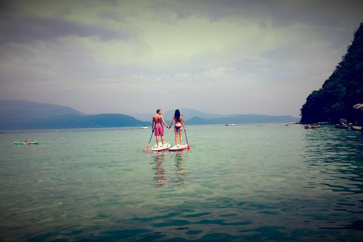 Romantic holiday Lake Garda