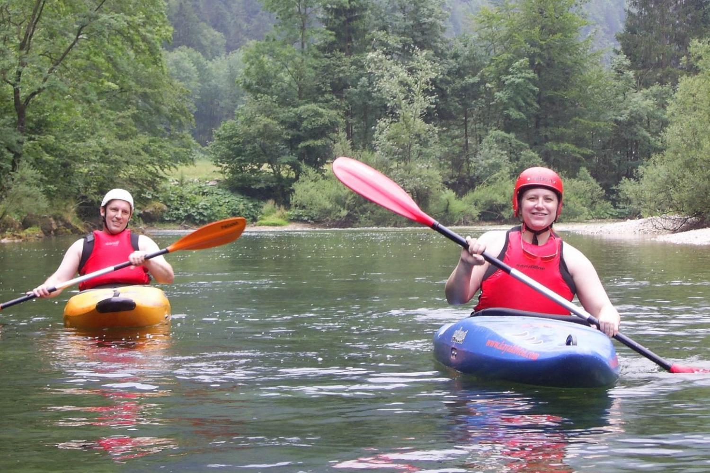 kayaking holiday Lake Bled