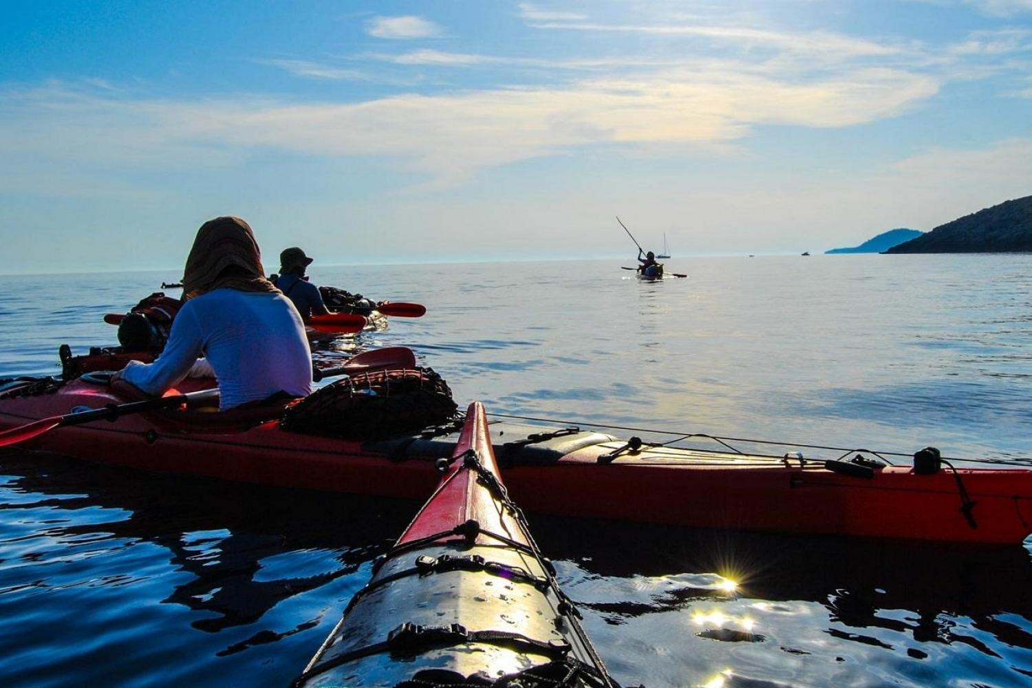 Kayaking the Sibenik archipelago Croatia