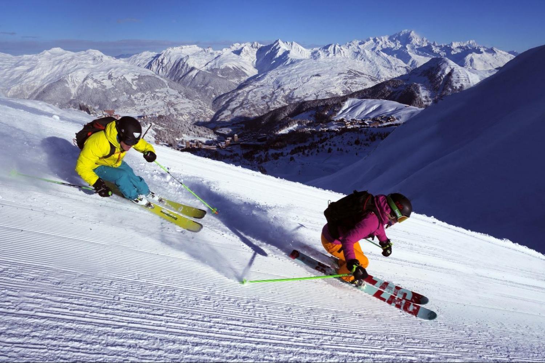 ski break in La Plagne, photo by Philippe Royer