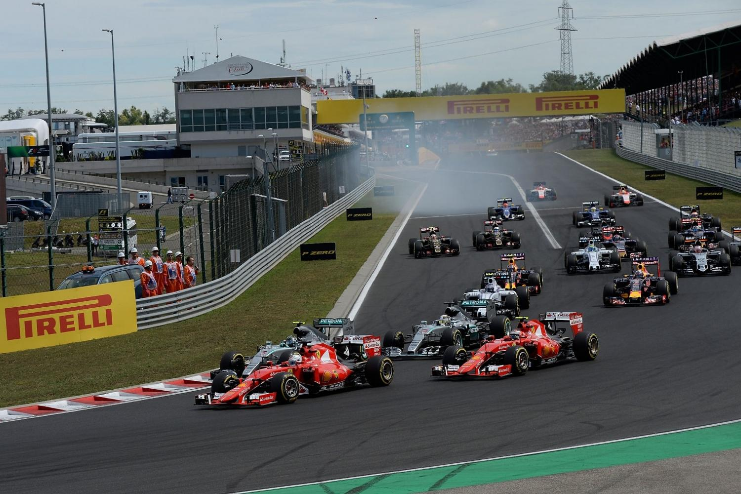Hungarian Grand Prix ticket packages