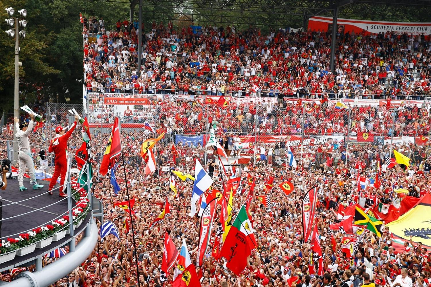 Italian Grand Prix ticket packages