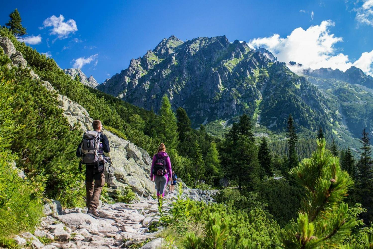 guided walking holiday Slovakia