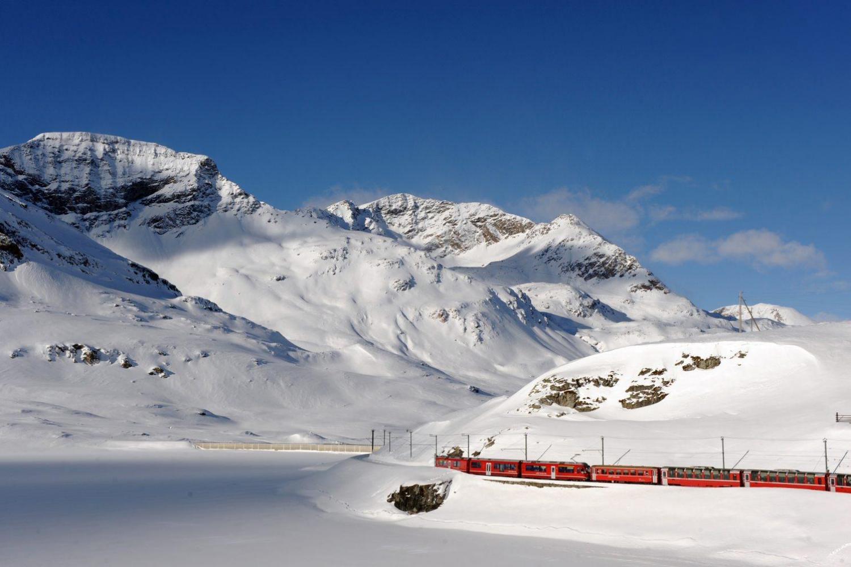 Bernina Express ski Diavolezza