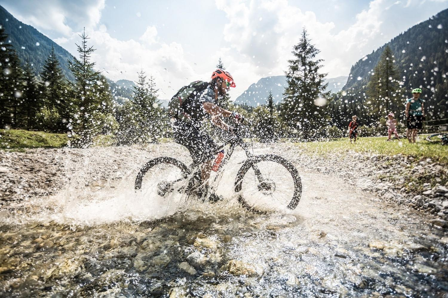 Mountain biking in Flachau