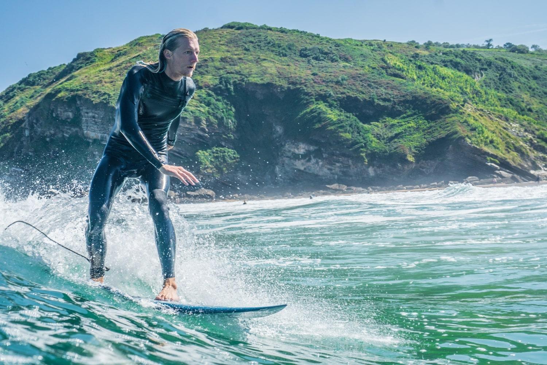 surf lessons in San Sebastian