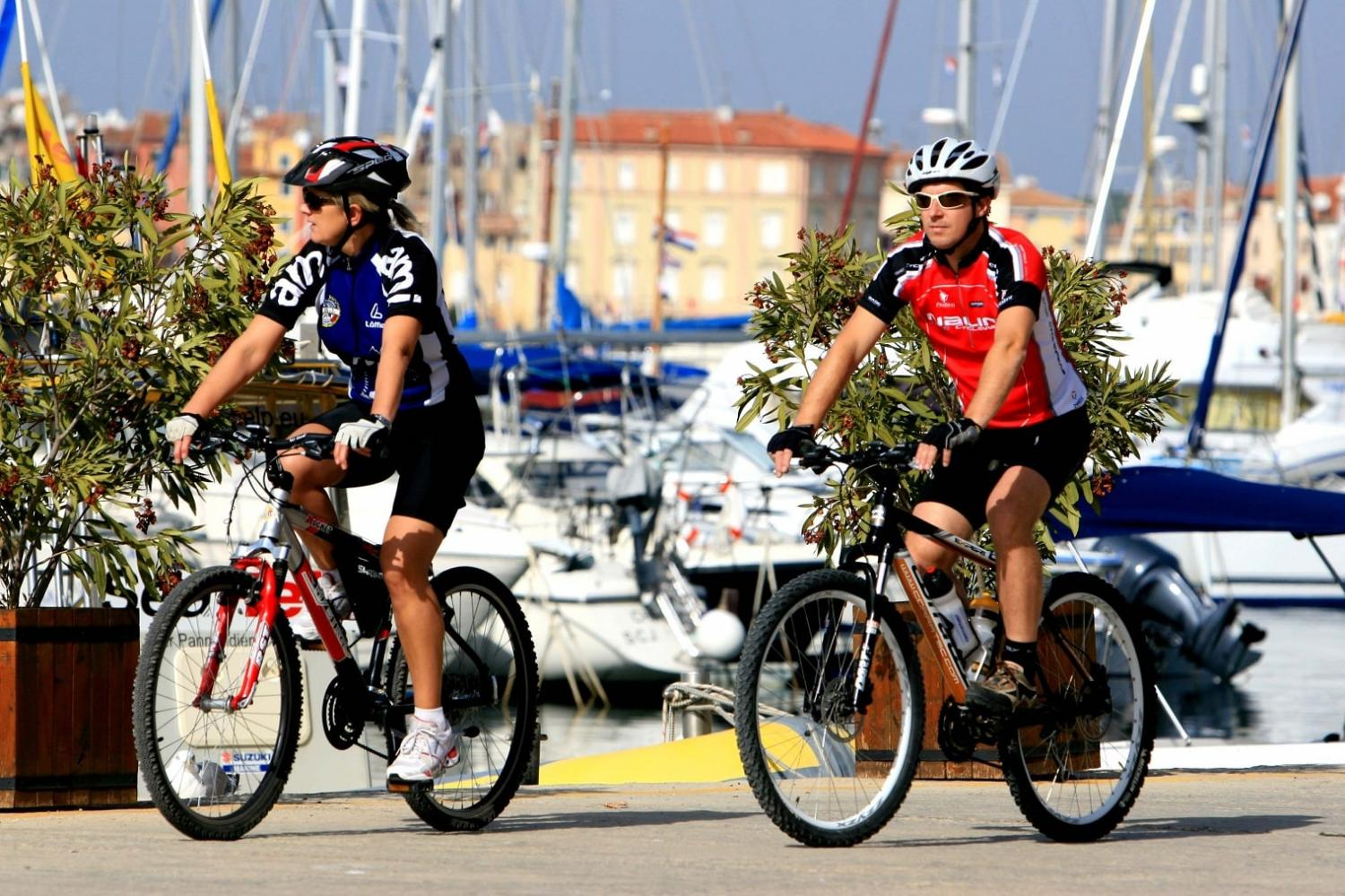 tour Istria by bike