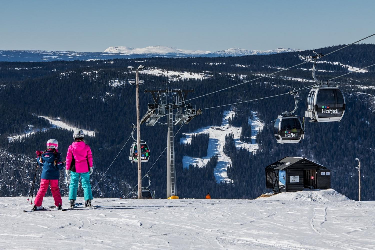Hafjell ski slopes