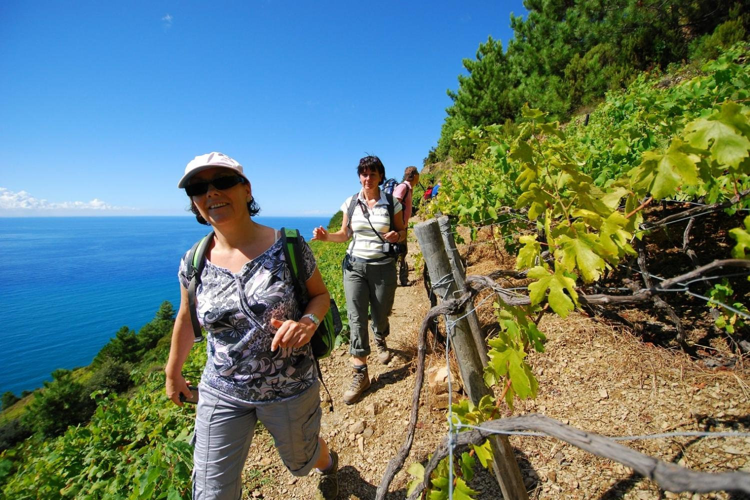 selg-guided hiking Cinque Terre