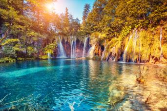 Plitvice Lakes National Park Tour from Split & Trogir with Gray Line Croatia
