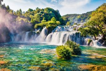 Krka Waterfalls & Sibenik Tour from Split & Trogir with Gray Line Croatia