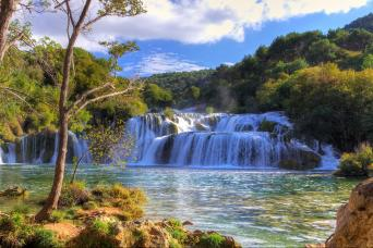 Private Krka Waterfalls National Park & Sibenik Tour from Split and Trogir with Gray Line Croatia