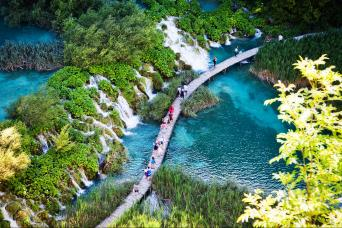 Private Plitvice Lakes Tour from Split & Trogir with Gray Line Croatia