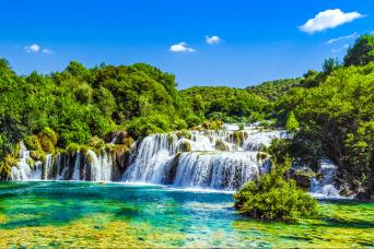 Krka Waterfalls Tour from Split with Gray Line Croatia