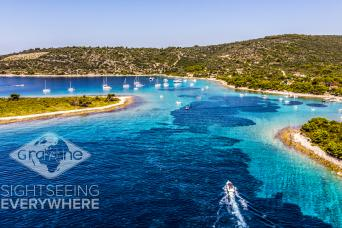 Blue Lagoon 3 Islands Speedboat Tour from Split with Gray Line Croatia