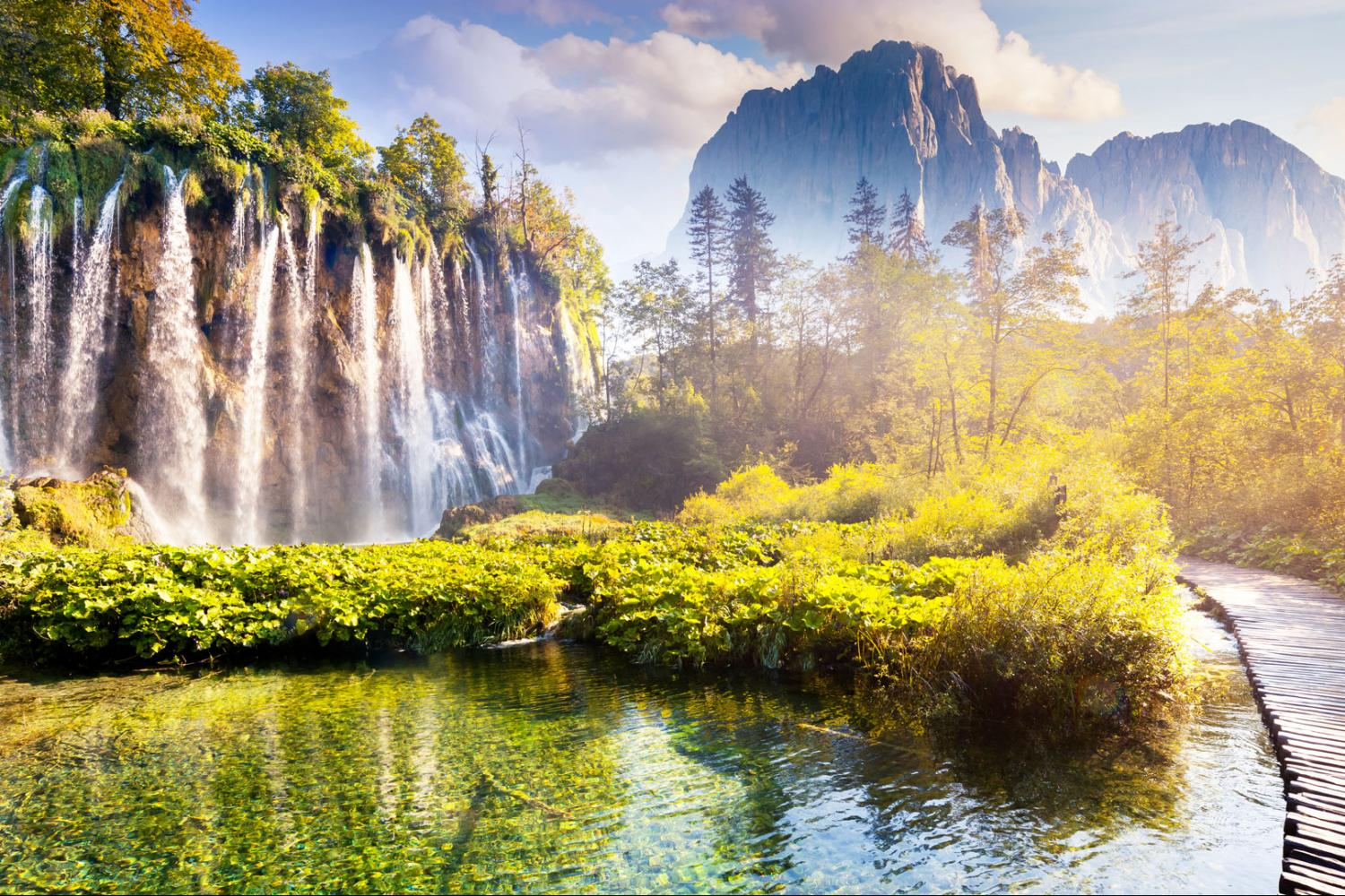 Plitvice Lakes Daily Tour From Split Or Trogir With Entrance Ticket