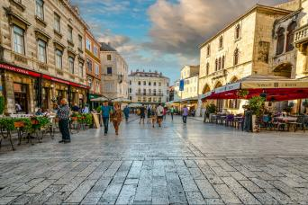 Split Walking Tour in Croatia with Gray Line Croatia